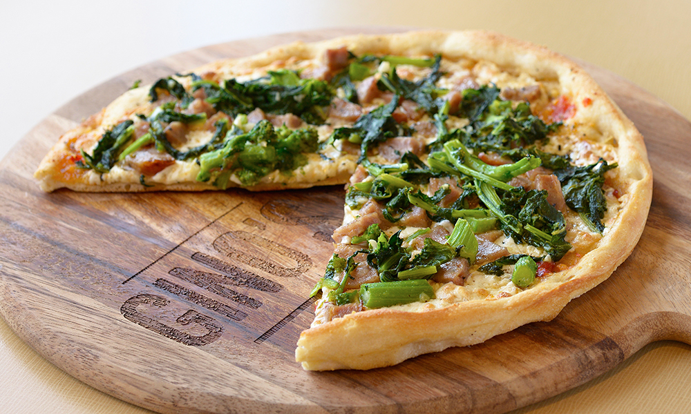 Broccoli Rabe & Sausage Pizzette