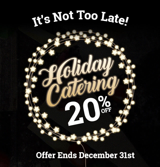 20% Off Catering